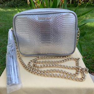 Silver Victoria's Secret Silver Handbag
